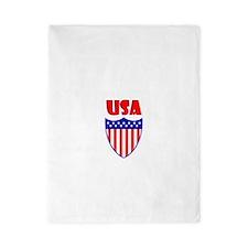 USA Crest Twin Duvet