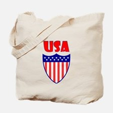 USA Crest Tote Bag