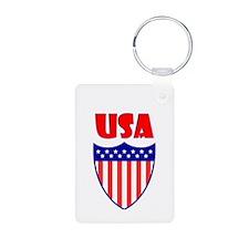 USA Crest Keychains