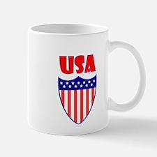 USA Crest Mugs
