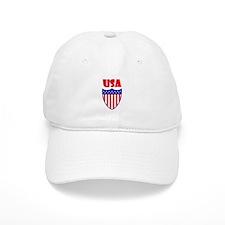 USA Crest Baseball Baseball Cap