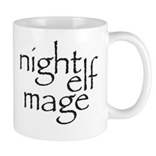 Cute Night elf Mug