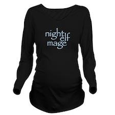 Night Elf Mage Long Sleeve Maternity T-Shirt
