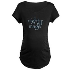 Night Elf Mage Maternity T-Shirt