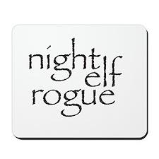 Night Elf Rogue Mousepad
