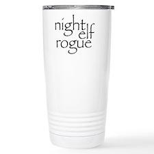Night Elf Rogue Travel Mug