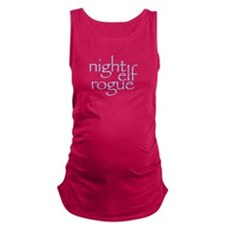 Night Elf Rogue Maternity Tank Top