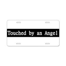 Touched by an Angle TV Show Aluminum License Plate