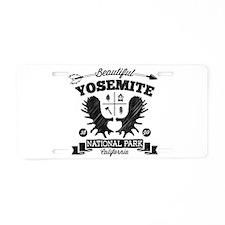 Yosemite Camper Aluminum License Plate