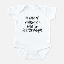 Feed me Lobster Bisque Infant Bodysuit