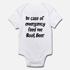 Feed me Root Beer Infant Bodysuit