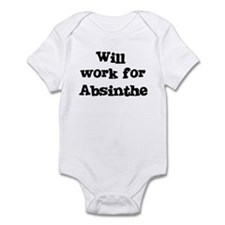 Will work for Absinthe Infant Bodysuit