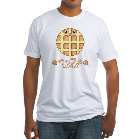 Plain Waffle Fitted T-Shirt