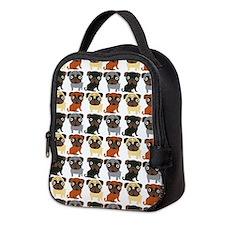 Just Pugs! Neoprene Lunch Bag