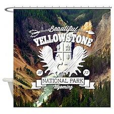 Yellowstone Camper Shower Curtain