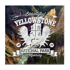 Yellowstone Camper Tile Coaster