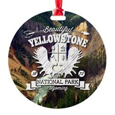 Yellowstone Camper Ornament