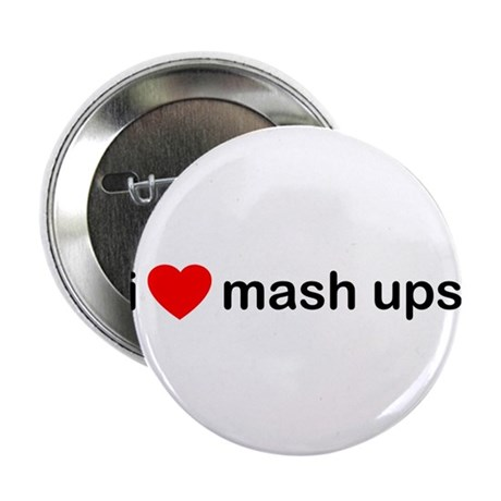"I Heart Mash Ups 2.25"" Button (100 pack)"
