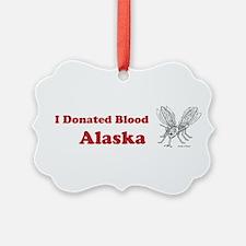 I Donated Blood Alaska Ornament