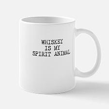 Whiskey is my spirit animal Mugs