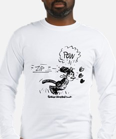 krazy_beanedBW Long Sleeve T-Shirt