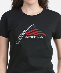 American Flag (White) T-Shirt