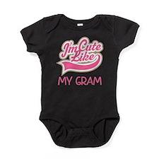 Cute like my Gram Baby Bodysuit