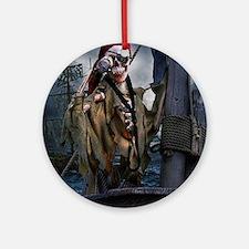 Boatswain's Mate Pirate Round Ornament
