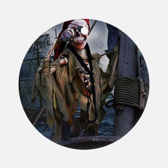 Boatswain's Mate Pirate Round Ornament