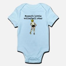 Mommys Little Volleyball Star Body Suit