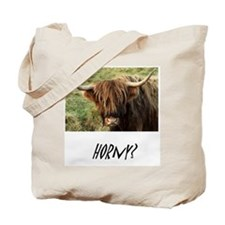 Cute Scottish highland cows Tote Bag
