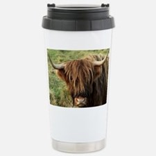 Highland Cow Stainless Steel Travel Mug