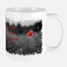 Lest We Forget Mug