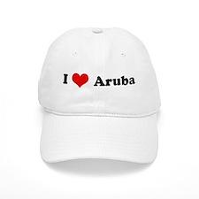 I Love Aruba Baseball Cap