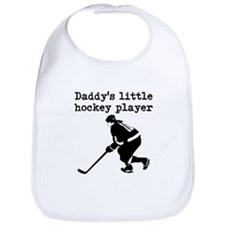 Daddys Little Hockey Player Bib