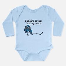 Daddys Little Hockey Star Body Suit