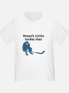 Mommys Little Hockey Star T-Shirt