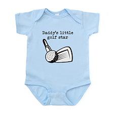 Daddys Little Golf Star Body Suit