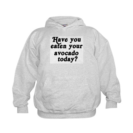 avocado today Kids Hoodie