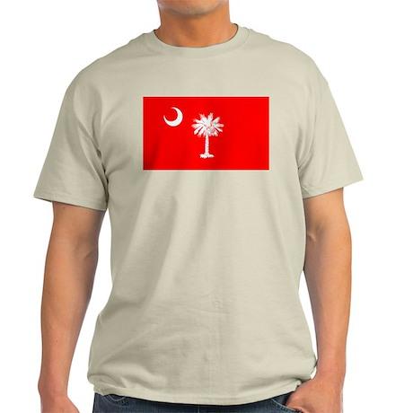 South Carolina Flag Light T-Shirt