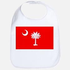 South Carolina Flag Bib