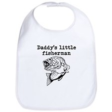Daddys Little Fisherman Bib