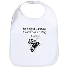 Mommys Little Skateboarding Star Bib