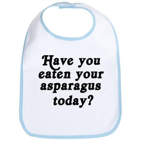 asparagus today Bib