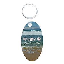 Original Seashell Customiza Keychains