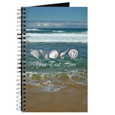 Original Seashell Customizable Art Journal