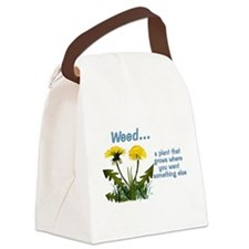 Dandelions Weed Canvas Lunch Bag