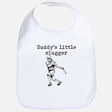Daddys Little Slugger Bib