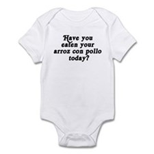 arroz con pollo today Infant Bodysuit