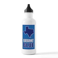 Texas: Bluebonnet Blue Water Bottle